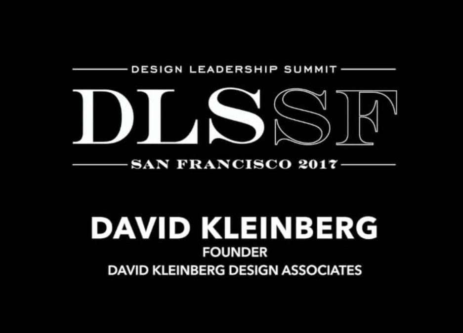 2017 DLS Design Master, David Kleinberg
